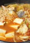 美味しい♪タラとキャベツのトマト鍋