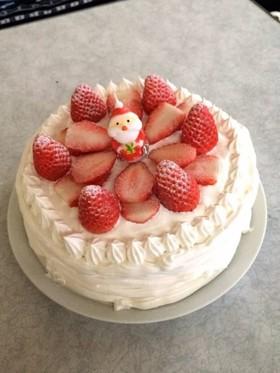 クリスマスケーキ^ω^