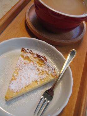 ヨーグルトを使った N.Y.チーズケーキ