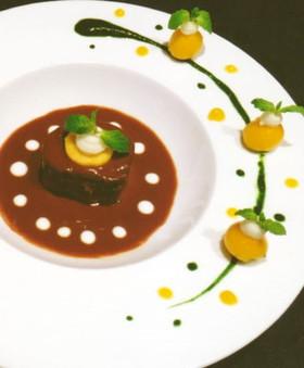 【ジビエ】鹿肉のヨーグルトマリネ
