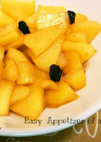 簡単♡りんごの甘煮アップルパイフィリング