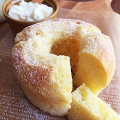 蜂蜜とマスカルポーネチーズの簡単ケーキ♪