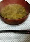 沖縄料理♪あおさの味噌汁