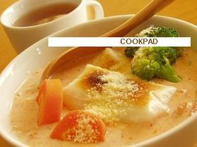 豆乳キムチスープ。