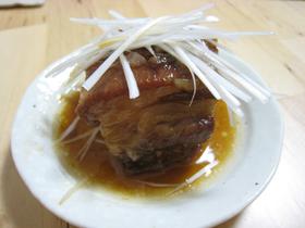 ふわとろ…豚の角煮