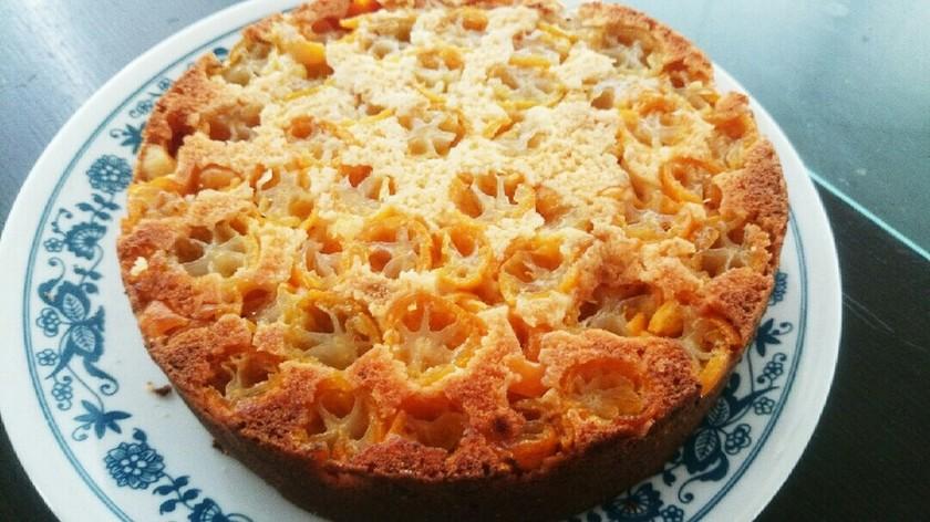 爽やか♪きんかんのチーズケーキ