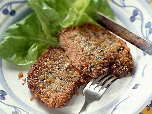 梅風味の揚げステーキ