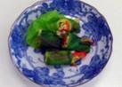 カラフル野菜の砧巻き★サラダ菜で巻いて♪