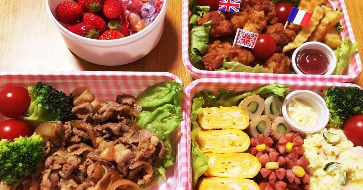 ピクニック・お花見に*簡単お弁当* by *ゆん** 【クックパッド】 簡単おいしいみんなのレシピが309万品