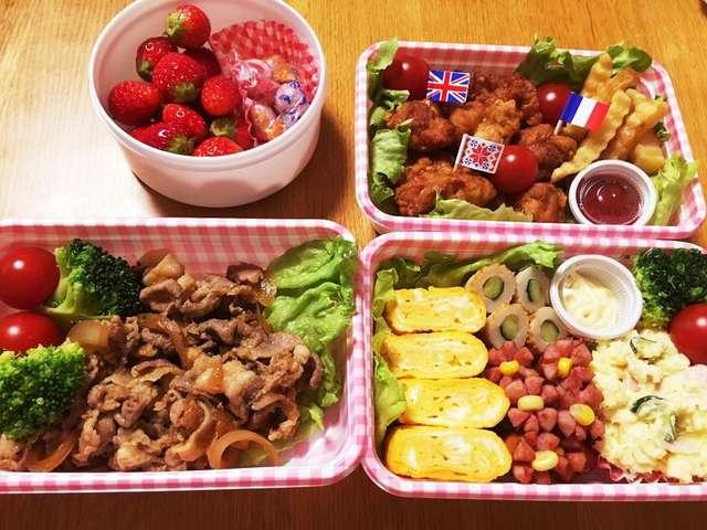 ピクニック・お花見に*簡単お弁当*