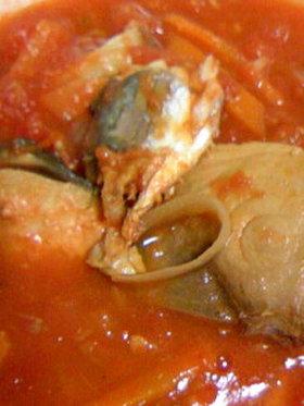 いわしとブリのトマト煮