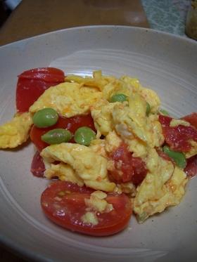 ふわふわ卵&トマト炒め(番茄炒蛋)