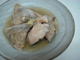 お給料日前に温まろう!『鮭の水煮』