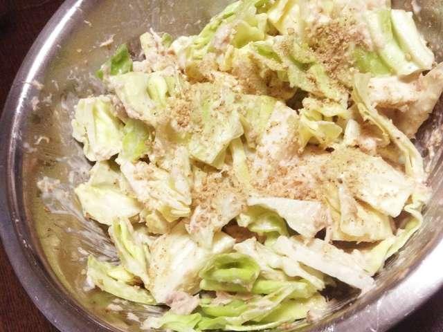キャベツ 大根 サラダ