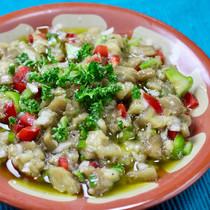 パトゥルジャン・サラタス(トルコの焼き茄子サラダ)