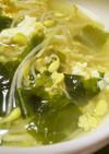 簡単☆もやしとわかめの卵スープ