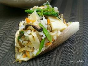 絶品!土鍋で香ばしい筍ご飯☆炊き込みご飯