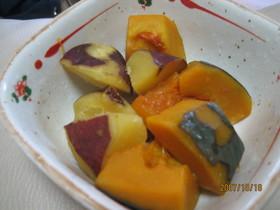 かぼちゃとさつまいもの素材の味を大切☆煮