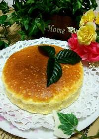 簡単スフレチーズケーキ