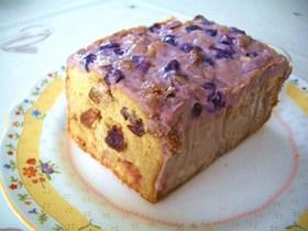 ブルーベリーのヨーグルトチーズ・パウンド