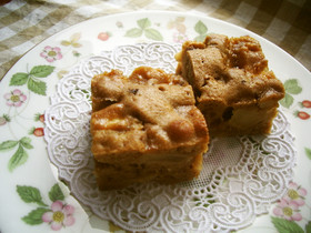 サラダ油で★簡単りんごのケーキ