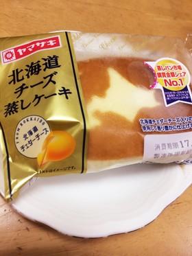 超簡単☆北海道蒸しチーズケーキを高級に!