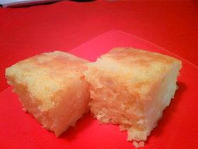 豆腐とたまごのふわふわケーキ♡