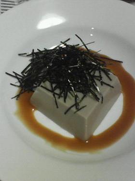 最後まで飽きない≪ごま豆腐≫の食べ方