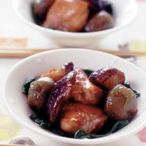 鶏肉の梅酒煮