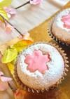 春爛漫♡桜のカップケーキ