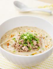 クリーミー冷やし豆乳担々麺の写真