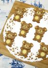 【立体クッキー】かわいいクマクッキー♪