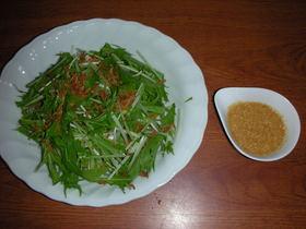 水菜のタイ風サラダ