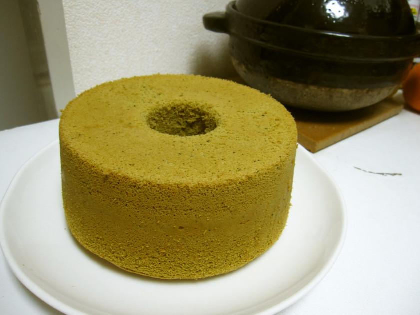 米粉,豆乳,抹茶のグルテンフリーシフォン