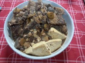☆鰤のアラ煮豆腐☆