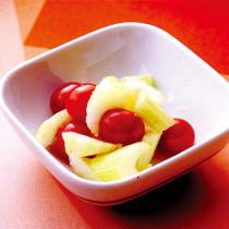 プチトマトとセロリの甘酢漬け