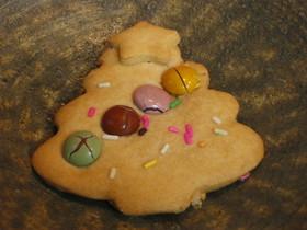 超簡単クリスマスツリークッキー