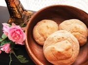 朝食に♪米粉と豆腐のモチモチパン♡の写真