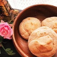 朝食に♪米粉と豆腐のモチモチパン♡