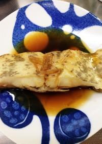 なめたがれいの煮魚