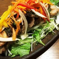 ☆ブリの南蛮漬風☆野菜モリモリサラダ