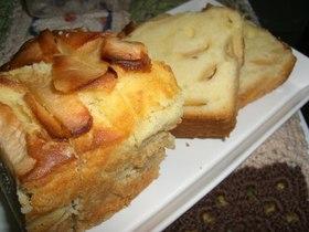 満腹リンゴのケーキ
