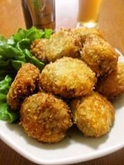 お弁当におつまみに♡味噌ミンチカツの写真