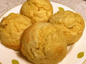豆腐とHMだけ♡簡単ふかふかパン♡朝食に