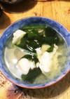 半熟!うずらの卵 ほうれん草 簡単スープ