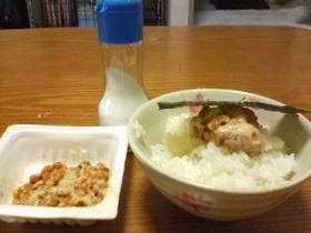 私の納豆のおいしい食べ方(*´艸`) 塩