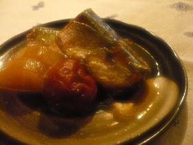 サンマの梅煮