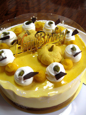 * かぼちゃムースケーキ *