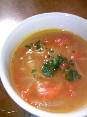 簡単トマトスープ♡アッサリとコッテリ♡