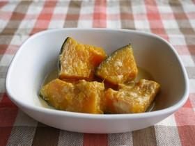 かぼちゃのはちみつ豆乳煮